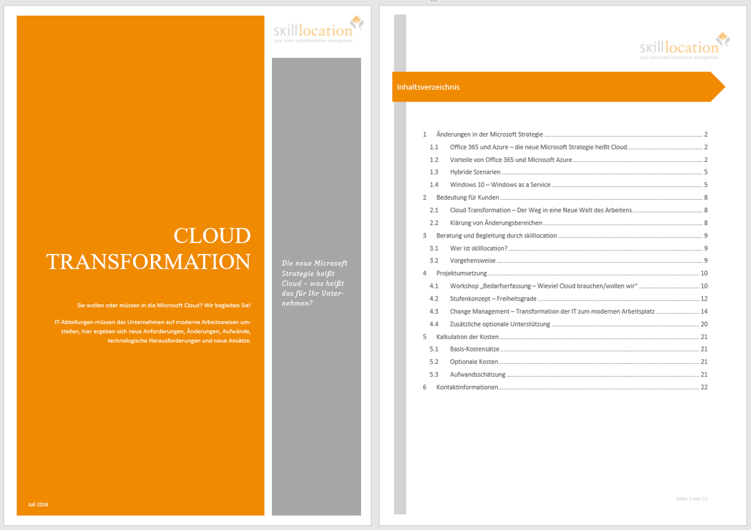 Kleine Helferchen | skilllocation | Microsoft Training & Präsentation