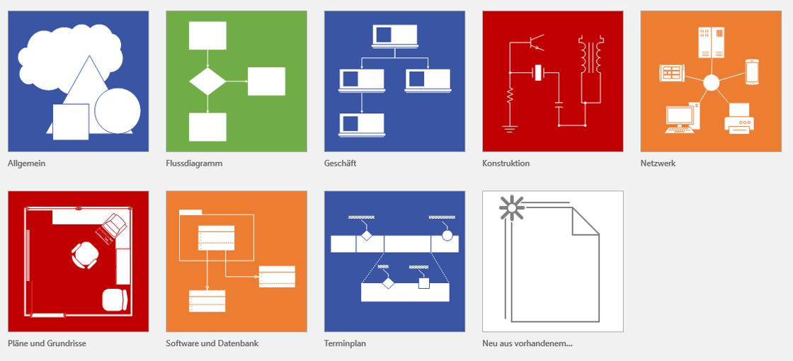 mit visio k�nnen die unterschiedlichsten anforderungen visualisiert werden:
