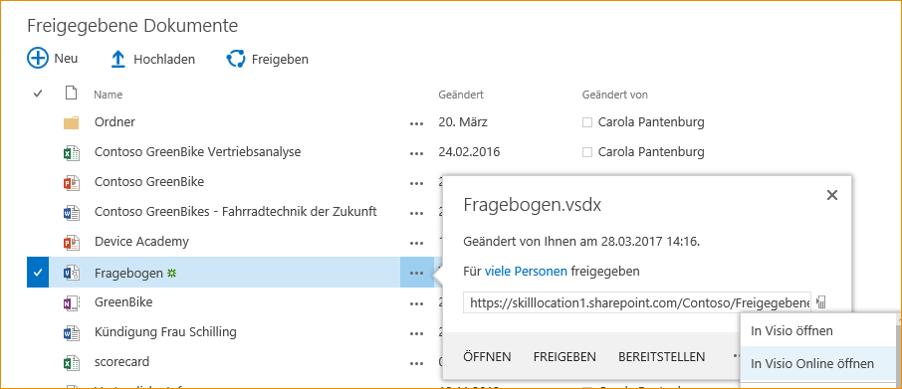 Visio 2016 und Visio Online | skilllocation | Microsoft